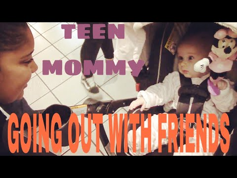 TEEN MOM AND BABY GO OUT WITH FRIENDS FOR THE FIRST TIME || LifeOfHope
