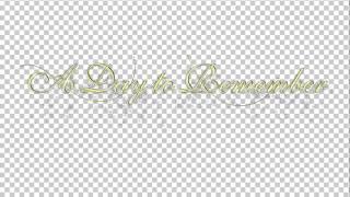 Свадебная надпись 2.1(англ яз)