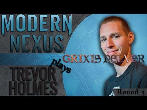 Trevor Holmes Plays MTGO Ep. 6: Grixis Delver (Round 3)