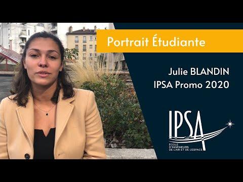 Portrait étudiante - Julie Blandin (IPSA promo 2021)
