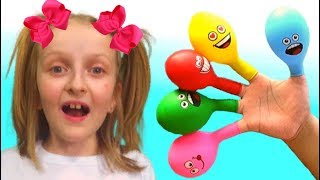 Tawaki kids play and learn colors with balloons