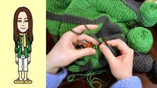 Rvo Raglan Von Oben Pullover Stricken Mit Rund Ausschnitt