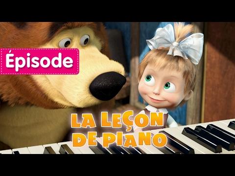 Masha Et Michka - La Leçon De Piano (Épisode 19)