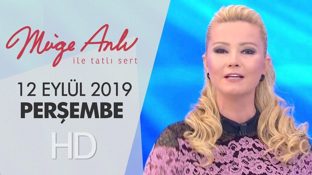 Müge Anlı ile Tatlı Sert 12 Eylül 2019 | Perşembe
