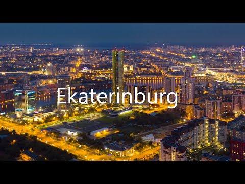 Russia. Ekaterinburg / Россия. Екатеринбург (Drone Hyperlapse)