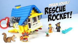 The LEGO Movie 2 Emmet's Rescue Rocket! Set Build Review 70831 Part 2