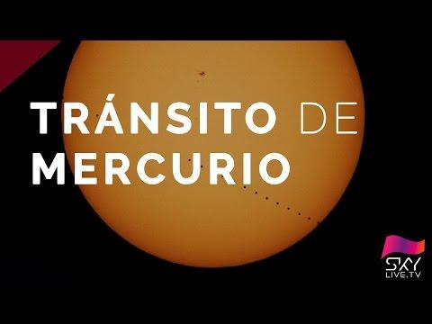 Un fenómeno único: Mercurio cruza por delante del sol
