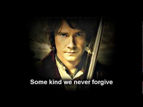 The Hobbit - Neil Finn - Song of the Lonely Mountain LYRICS