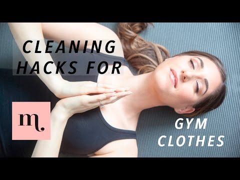 How To Always Have Clean-Smelling Gym Clothes