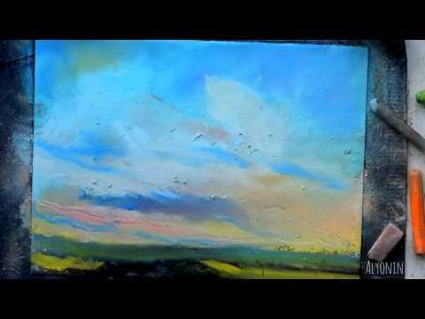 SPEED PAINTING Landscape Art   Скоростное рисование Красивый пейзаж 2
