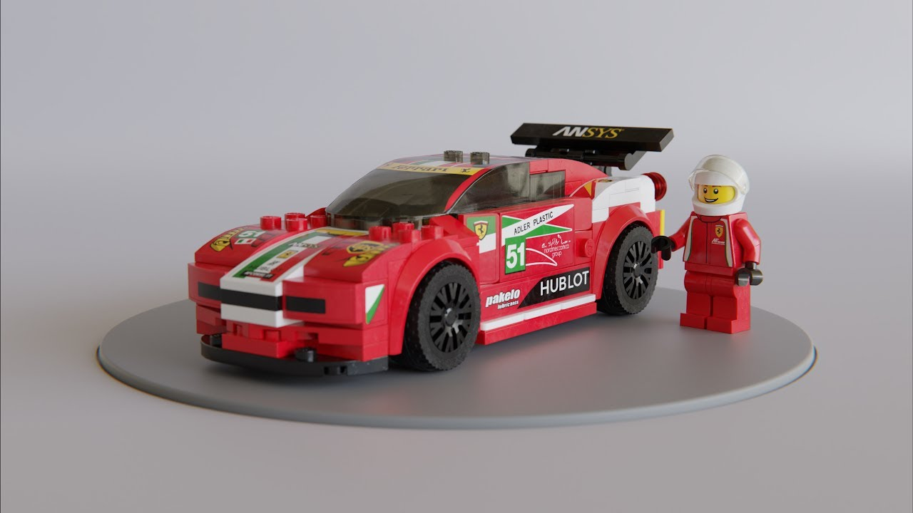 Building 3D LEGO models with MecaBricks