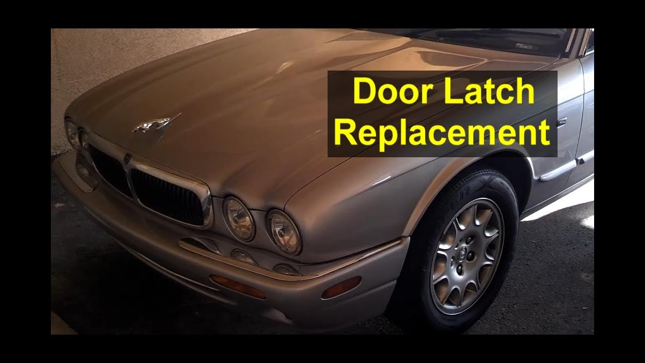 jaguar xj8 door will not open door panel removal latch removal auto repair series youtube. Black Bedroom Furniture Sets. Home Design Ideas