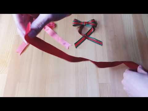 Você sabe fazer um laço retinho?