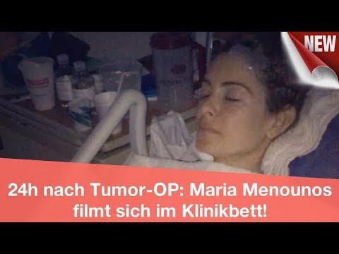 24h nach Tumor-OP: Maria Menounos filmt sich im Klinikbett! | CELEBRITIES und GOSSIP