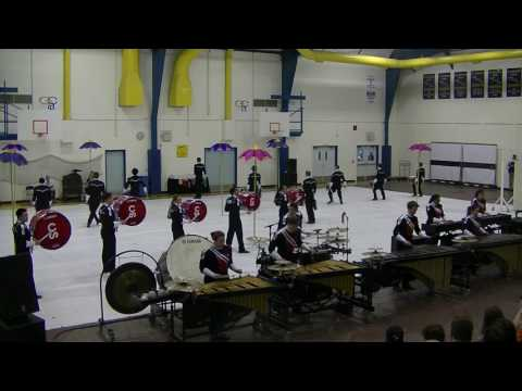 Calgary Stampede Winter Percussion @ Alberta Winterguard Season Opener 2017