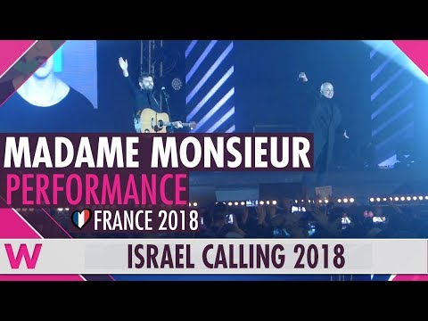 "Madame Monsieur ""Mercy"" (France) LIVE @ Israel Calling 2018"