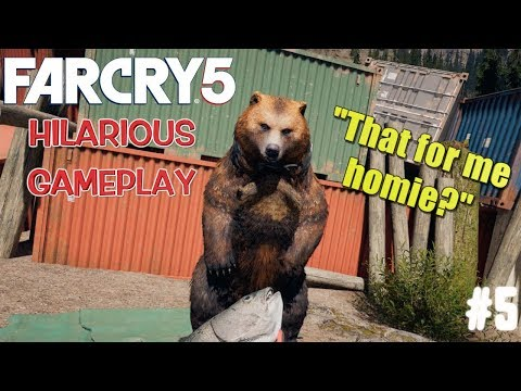 """FUNNY """"FAR CRY 5"""" GAMEPLAY #5"""