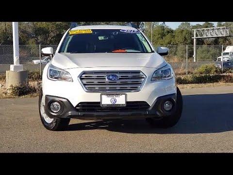 2017 Subaru OUTBACK Sport Utility 2.5i Folsom Sacramento Roseville Elk Grove El Dorado Hills