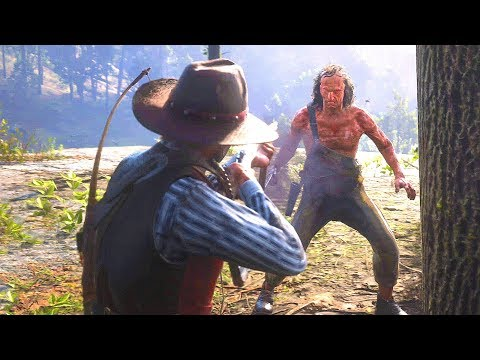 Red Dead Redemption 2 - Arthur's Brutal Rampage, Bounty Hunting, Duels & Free Roam Gameplay
