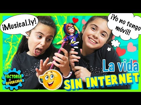 La VIDA con INTERNET vs la vida SIN INTERNET CLODETT cuenta cómo vivíamos ¡¡SIN INTERNET!!