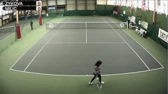 ZYKOVA (RUS) vs MILIC (SVN) - Open Super 12 Auray Tennis - Court 1