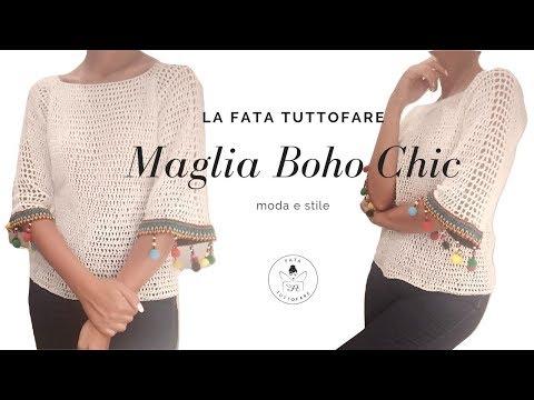 """tutorial:-maglia-in-lino,-stile-""""boho-chic""""/-maglia-etnica*lafatatuttofare*"""