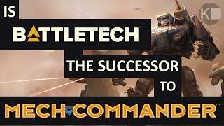 Is BATTLETECH the New MechCommander PC Game? [Super-Pre-Alpha Gameplay Footage]