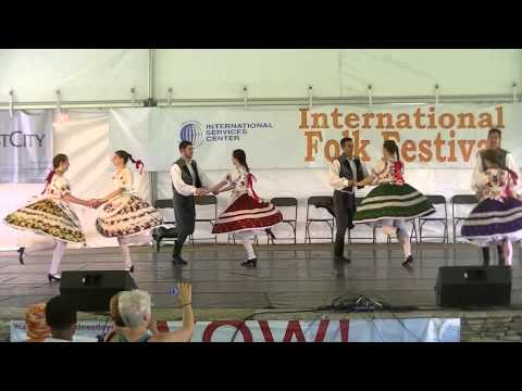 Traditional Hungarian Folk Dance by Csardas