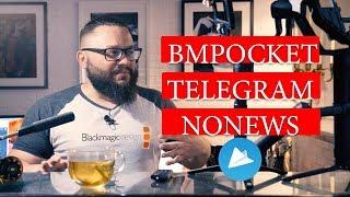 Блокировка Телеграм и Black Magic Pocket 2018