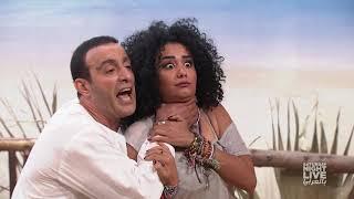 SNL بالعربى - (أحمد السقا ) ملك الاكشن فى دور مدرب يوجا هادى جدا وبتاع سلام داخلى وحركات من دى؟ 🤣🤣