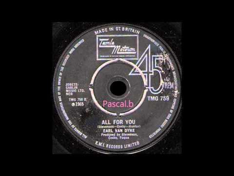 Earl Van Dyke - All for you
