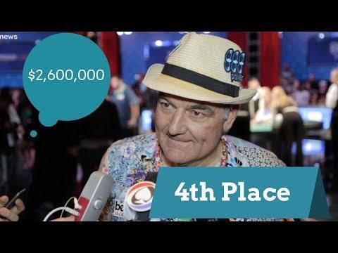 2017 WSOP:  4th Place Finisher John Hesp