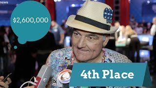 2017 WSOP:  4th Place Finisher John Hesp