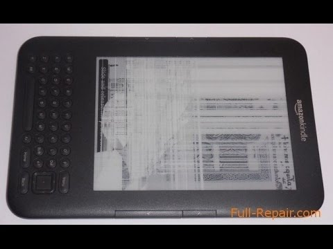 How to replacement the Amazon Kindle 3 D00901 Display Screen. Замена экрана на Amazon Kindle 3