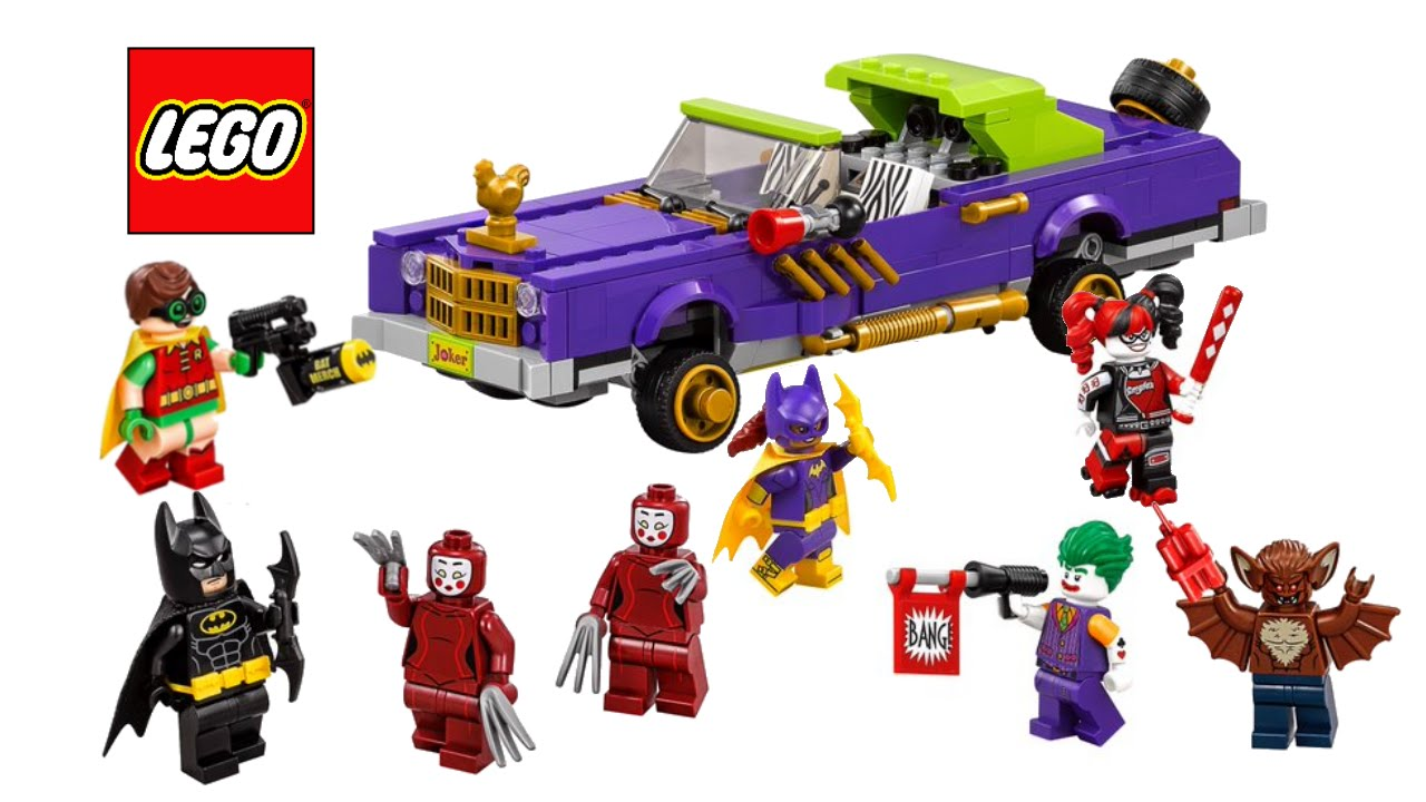LEGO Batman Movie 2017 Batmobile and Lowrider sets - My ...