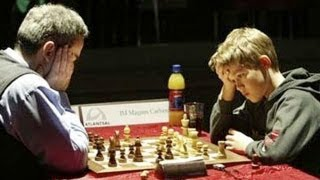 Kasparov Beats Carlsen in Crazy King