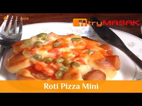 Roti Pizza Mini | Try Masak | iCookAsia