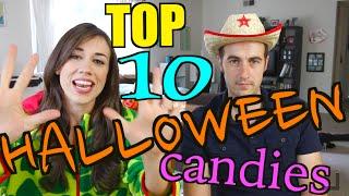 TOP 10 HALLOWEEN CANDIES!