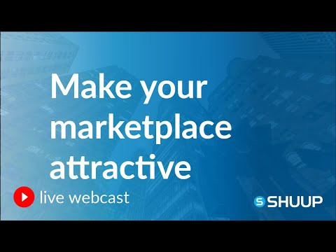 Webcast: How to Make Your E-commerce Marketplace Attractive for Vendors and Customers