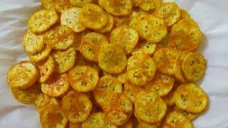 কলার মচমচে চিপস্||Kolar chips Recipe||How to Make Crispy Banana Chips Recipe||