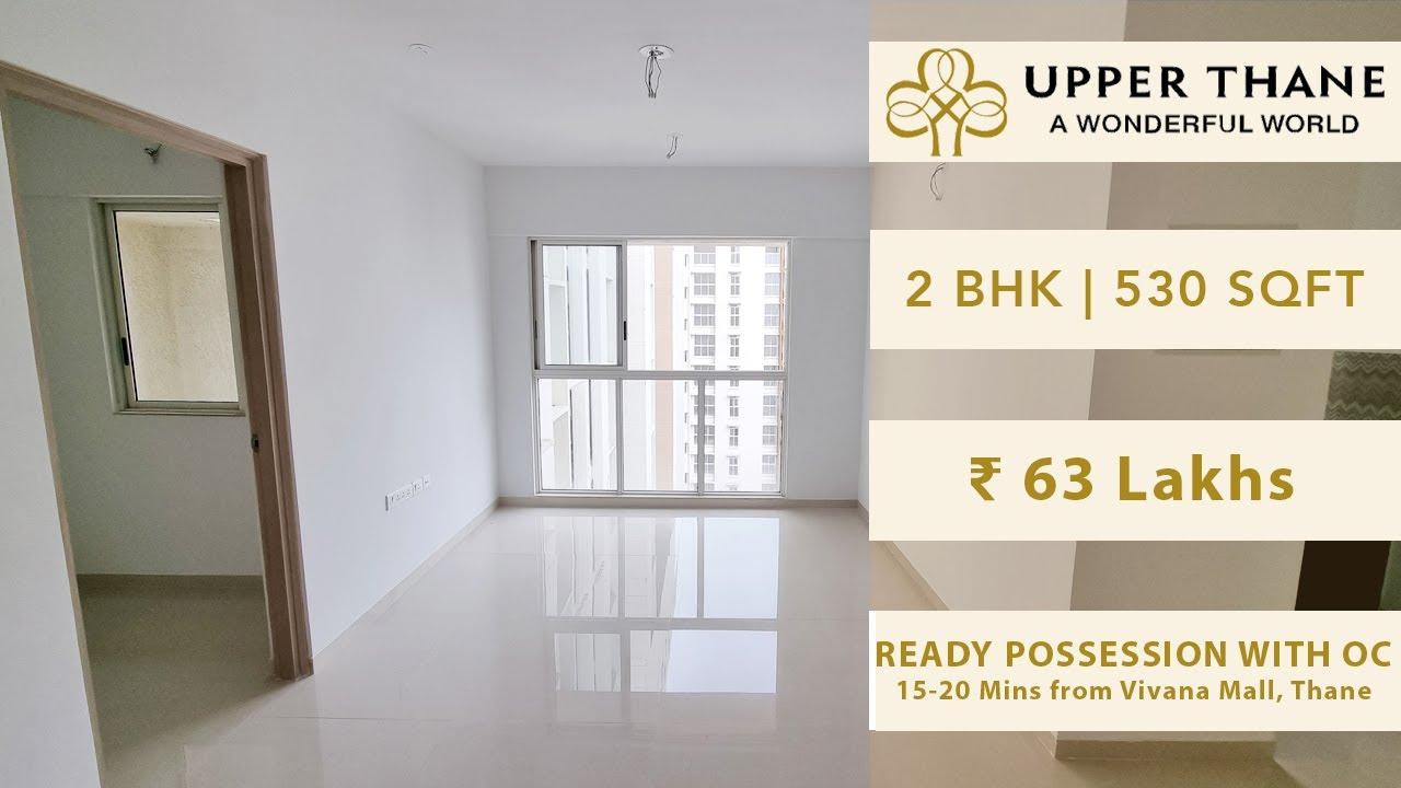 2 BHK Optima   Lodha Upper Thane   530 SqFt   63 Lakhs   For Sale   Thane Real Estate   Walkthrough