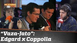 Novo capítulo da Vazo-Jato: Edgard e Coppolla divergem sobre conduta de Moro e procuradores