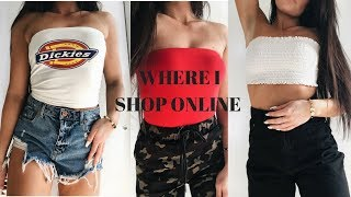 WHERE I SHOP ONLINE + TRY ON HAUL