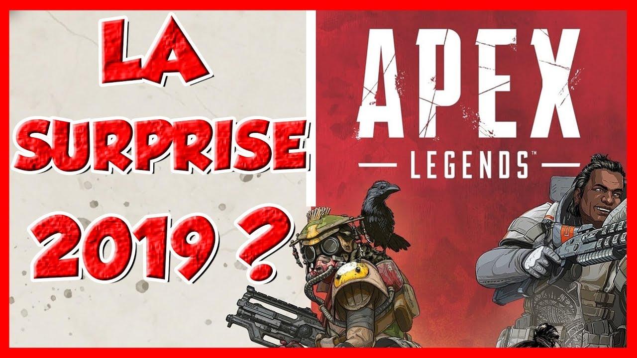 LA SURPRISE 2019 ? - APEX LEGENDS Mon avis sur ce Battle Royale