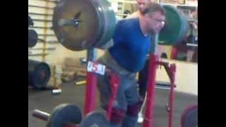Igor Gagin Squat 380 kg. Road to the Euro 2012