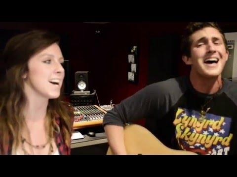 HOME ALONE TONIGHT - Luke Bryan Cover by Chris Scott (Feat: Amy Schmidt)