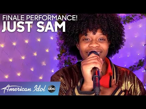 """JUST SAM Performs """"Rise Up"""" by Andra Day - American Idol 2020 Finale"""