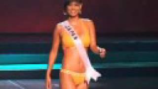 Miss Universe 2008 Presentation - Japan Swimsuit Hiroko Mima.