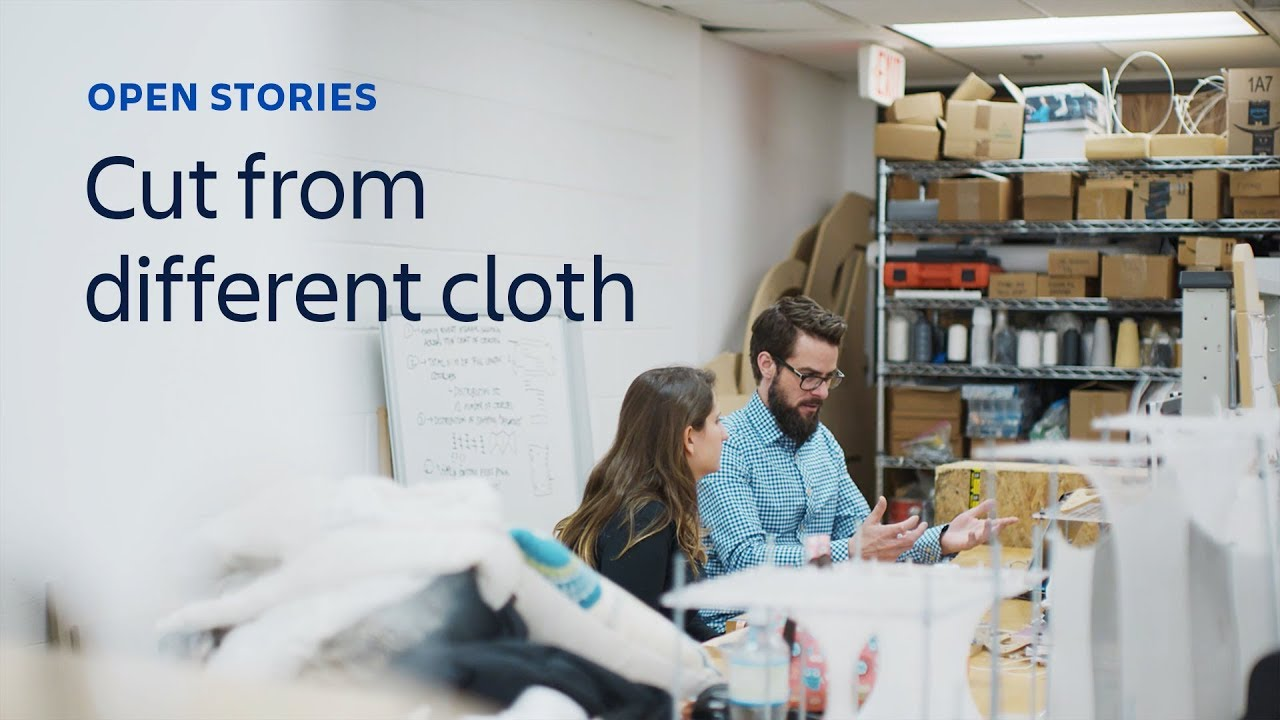 Open Stories: Cut from a different cloth