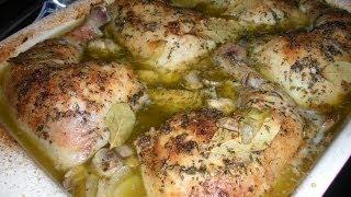 Baked Artichoke Chicken